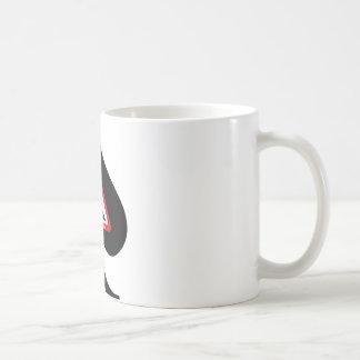 Rey de espadas tazas de café