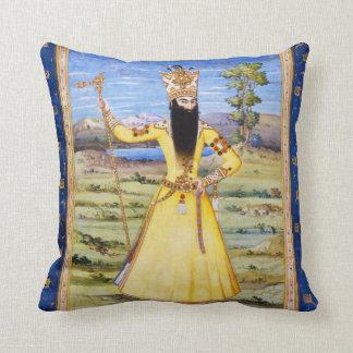 Rey de Fath Ali Fatali Shah Qajar Almohada