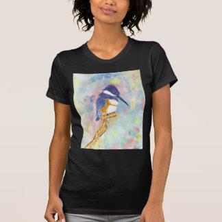 Rey de Fisher, acuarela del martín pescador T-shirt