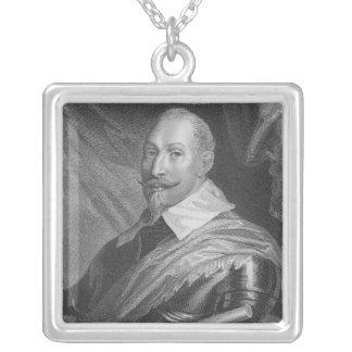 Rey de Gustavus Adolphus II de Suecia Colgante Cuadrado
