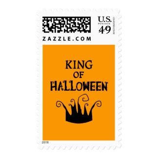Rey de Halloween Sellos Postales