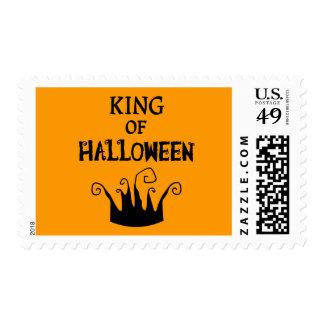 Rey de Halloween Timbre Postal