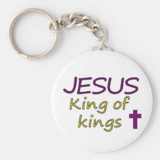 Rey de JESÚS de reyes Llavero Personalizado