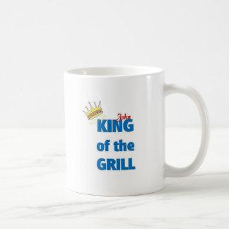 Rey de Juan de la parrilla Tazas De Café