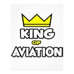 Rey de la aviación membrete