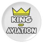 Rey de la aviación platos