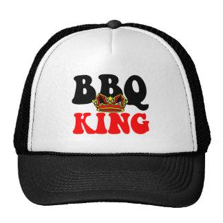 Rey de la barbacoa gorras
