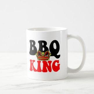 Rey de la barbacoa taza clásica
