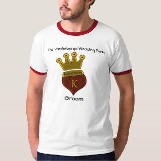Rey de la camisa de los corazones (novio)