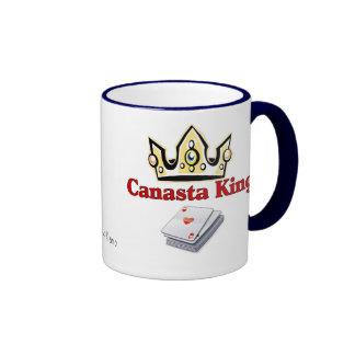 Rey de la canasta, tazas