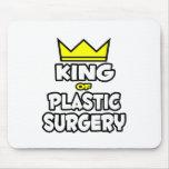 Rey de la cirugía plástica alfombrilla de ratones