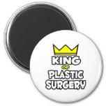 Rey de la cirugía plástica imán de frigorifico