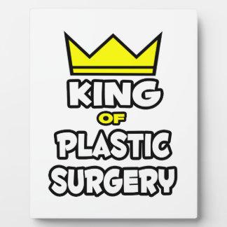 Rey de la cirugía plástica placas para mostrar