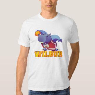 Rey de la clavada - camiseta de Wilbur Playeras