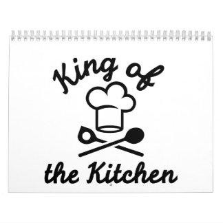 Rey de la cocina calendarios de pared