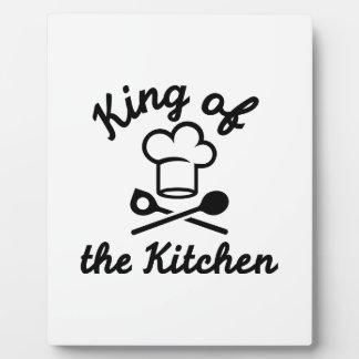 Rey de la cocina placas para mostrar