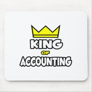 Rey de la contabilidad alfombrillas de ratones