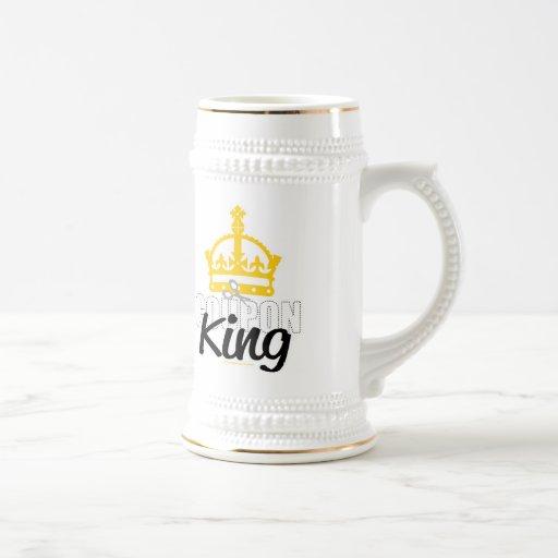 Rey de la cupón taza