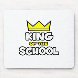 Rey de la escuela tapetes de ratón