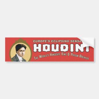 Rey de la esposas de Houdini Etiqueta De Parachoque