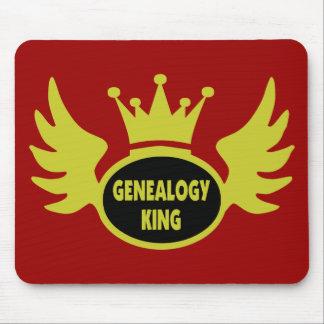 Rey de la genealogía alfombrilla de ratón
