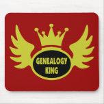 Rey de la genealogía alfombrilla de ratones