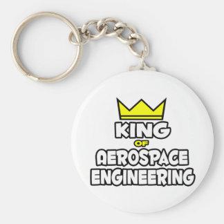Rey de la ingeniería aeroespacial llaveros