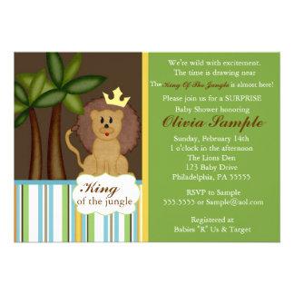 Rey de la invitación de la fiesta de bienvenida al
