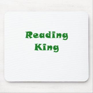 Rey de la lectura tapetes de ratón