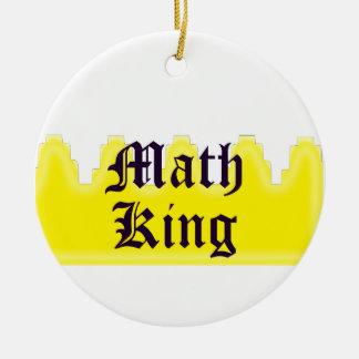 Rey de la matemáticas ornamento de reyes magos
