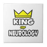Rey de la neurología teja cerámica
