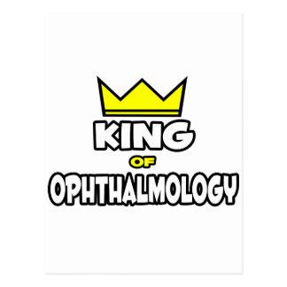 Rey de la oftalmología tarjetas postales