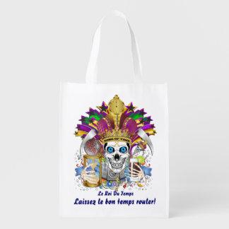 Rey de la opinión del carnaval del carnaval del bolsas reutilizables
