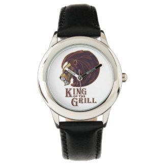 Rey de la parrilla relojes de pulsera