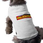 Rey de la parrilla ropa de perros