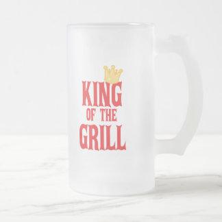 Rey de la parrilla taza de café