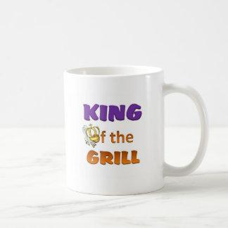 Rey de la parrilla tazas