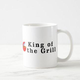Rey de la parrilla taza clásica