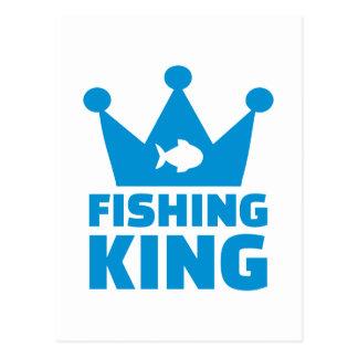 Rey de la pesca postales