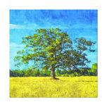Rey de la pintura del campo de maíz impresiones en lienzo estiradas