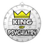 Rey de la psiquiatría tabla dardos
