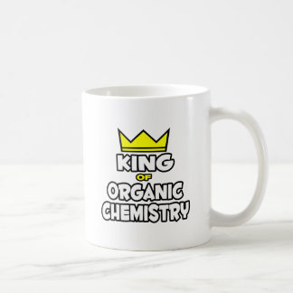 Rey de la química orgánica tazas de café