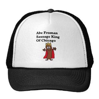Rey de la salchicha de Abe Froman de Chicago Gorras