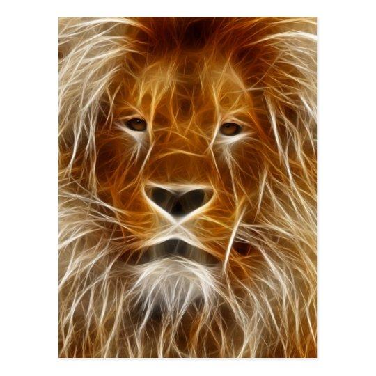 Rey de la selva electrificada postales