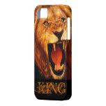 rey de la selva iPhone 5 Case-Mate cárcasas