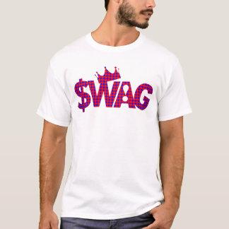 ¡Rey de la superestrella del Swag! Playera
