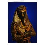 Rey de la tarjeta de felicitación de Egipto