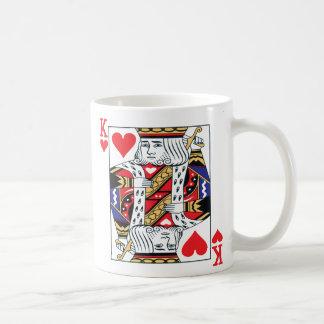 Rey de la taza de los corazones