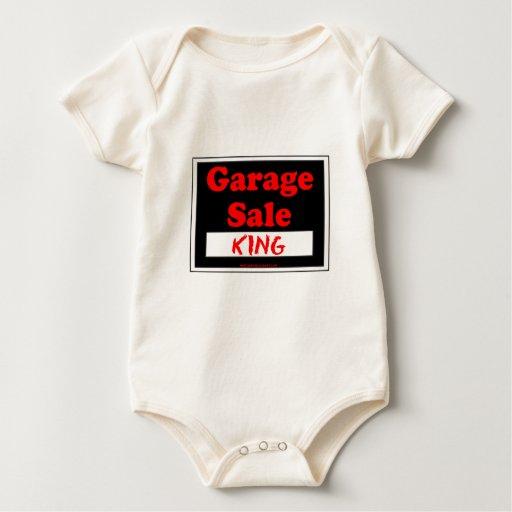 Rey de la venta de garaje body de bebé