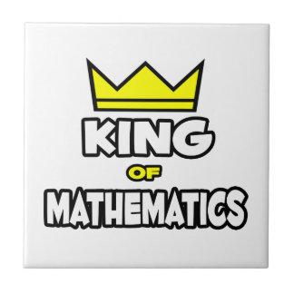 Rey de las matemáticas teja